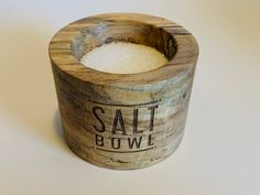 Hand turned salt bowl made from spalted maple. Spalted Maple, Houston, Salt, Rings For Men, Jewelry, Design, Men Rings, Jewlery, Jewerly