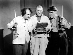 The Three Stooges, A Bird in the Head, Larry Fine, Curly Howard, Moe Howard, 1946