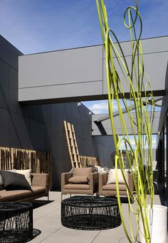 *outdoor rooms, landscape design, architecture* - RBC Design Centre Montpellier by Jean Nouvel