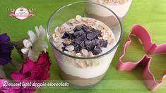Dessert light doppio cioccolato, proteico, senza grassi, senza uova ma golosissimo e appagante! Perfetto per chi è a dieta o per chi vuole mangiare più sano