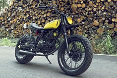 Yamaha TW125 -built by Le French Atelier.