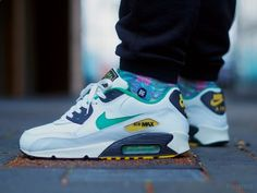 Nike Air Max 90 'Drum Island Pack - Jamaica' (by. – Nike Air Max 90 'Drum Island Pack - Jamaica' (by Felipe OB) Nike Shoes Cheap, Nike Shoes Outlet, Hypebeast, Nike Air Max 90s, Streetwear, Air Max Sneakers, Sneakers Nike, Rose Gold Adidas, Nike Kicks