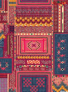 HOFFMAN CHALLENGE - 2015 Main Print - Mandalay - Quilt Fabrics from www.eQuilter.com