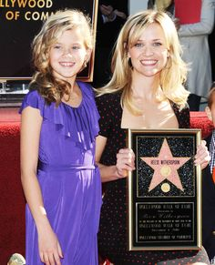 Famous Families: Like Mother, Like Daughter - Reese Witherspoon and Ava Phillippe from #InStyle