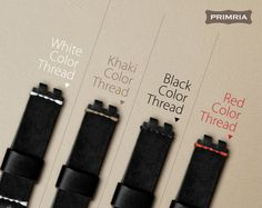 Leather Strap for Pebble Steel Olive Black by PRIMRIA on Etsy