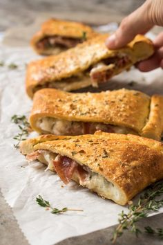 This gluten free and keto calzone pays a great homage to the classic Italian turnovers made with pizza dough. This one, however, uses our (dairy free!) keto dough to yield an awesome low carb dish. Gf Recipes, Dairy Free Recipes, Italian Recipes, Low Carb Recipes, Cooking Recipes, Recipies, Dinner Recipes, Flour Recipes, Healthy Recipes