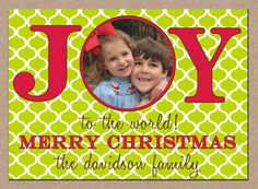 12 Personalized Printed Christmas Holiday Photo by ohsuzyqdesigns, $13.95