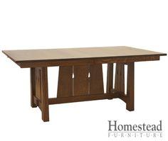 Santa Cruz Dining Table   Homestead Furniture