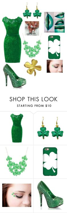 """""""Happy St. Patrick's Day"""" by otakugurl77 ❤ liked on Polyvore featuring By Emily, Bordello and Chanel"""