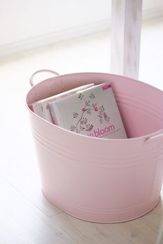 powder pink enamelware