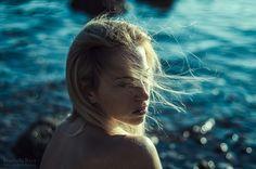 Wild Stories - Martina and the Sea by Michela Riva, Model Martina Klimic. Source: http://michela-riva.deviantart.com/art/Martina-and-the-Sea-564455912