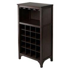 Winsome 20 Bottle/Glass holder Wine Cabinet