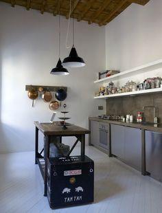 Kitchen designed by Italian B-Arch Studio