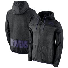 Baltimore Ravens Nike AV15 Winterized Full-Zip Jacket - Black db5188523