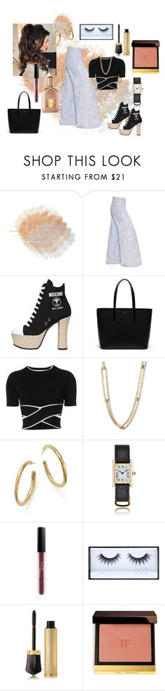 """""""Untitled #478"""" by vintagelady52 ❤ liked on Polyvore featuring Amen, Moschino, Lacoste, T By Alexander Wang, Sidney Garber, Ippolita, Huda Beauty, Christian Louboutin and Tom Ford"""