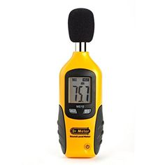 Dr.Meter Ms10 Digital Decibel Sound Level Meter Tester 30 Dba - 130 Dba- [9V Battery Included]- 30 Days Money Back, 12 Month Replacement Warranty Guarantee, 2015 Amazon Top Rated Sound Measurement #HomeImprovement