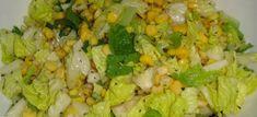 πρασινη σαλατα με καλαμποκι Grains, Rice, Recipes, Food, Essen, Meals, Ripped Recipes, Seeds, Eten