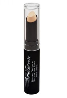 """The Revlon PhotoReady concealer has great coverage and blends beautifully with fingers. I've also mixed it with a little lip balm to create a perfect nude lip on photo shoots."""