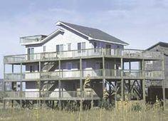 Villa Nel Mare, 4 bedroom Ocean Front home in Avon, OBX, NC  ***Favorite
