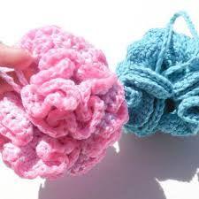 crochet shower scrubby - Google Search