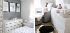 Ideas para usar la cómoda Malm de Ikea - http://www.decoora.com/ideas-para-usar-la-comoda-malm-de-ikea.html