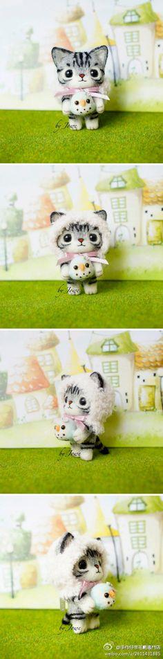 羊毛毡猫猫