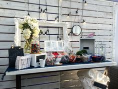 Candy Bar Accessories with Edison Light Bulbs by DX Design