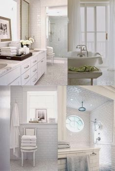 Depósito Santa Mariah: Aconchegantes Banheiros Brancos!