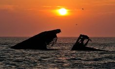Sunset beach, Cape May, NJ (That's a sunken concrete ship.)