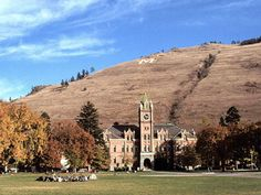 If I was born outside of space and time...to make my choice, well this would be mine.  I love Missoula, MT.