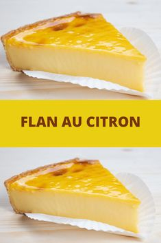 Flan au citron toutes recettes citron desserts flan unique wedding cake designs the chicest and most modern ideas Brownie Recipe Video, Brownie Recipes, Sponge Cake Recipes, Homemade Cake Recipes, Flan Dessert, Dessert Recipes, Flaky Pastry, Cake Recipes From Scratch, Mince Pies