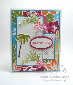 Tropical Party Birthday