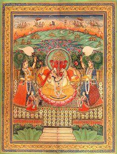 Jain Manifestation of Ganesha