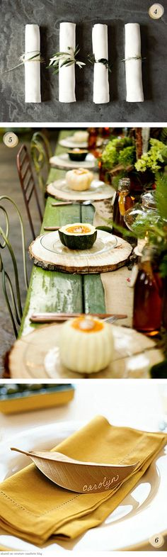(via Pinterest Picks: Simple Fall EntertainingInspiration - Home - Creature Comforts - daily inspiration, style, diy projects freebies)