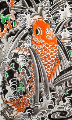 Image result for horiyoshi iii koi