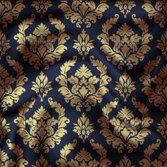 Damask ornate seamless pattern. Royal wallpaper. Vector eps10 illustration is fully editable. Suitable for decoration work and pre