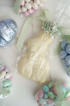 White Chocolate Bunny!