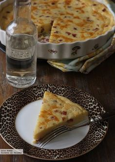 Quiche de quesitos sin base