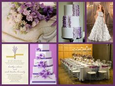 Lavender wedding theme
