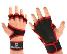 ProFitness Leather Padding Cross Training Gloves with Wrist Support for WODs & Gym Workouts Perfect for Men & Women (Red, X-Small) - Best Weight Loss Tips Best Weight Lifting Gloves, Best Weight Loss, Weight Loss Tips, Workout Gloves, Serious Injury, Powerlifting, Cross Training, Fun Workouts, The Help