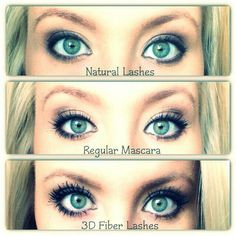 Forget the false lashes and extensions...get your Younique 3d fiber lash mascara today!