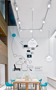 office tour workplace element ideapaint walls kindergartrn pinterest buero b ros und. Black Bedroom Furniture Sets. Home Design Ideas