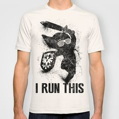 Link Boss Black Version T-shirt by Head Glitch - $22.00