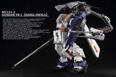 KAZUO's HG 1/144 RX-121-2 Gundam TR-1 HAZEL OWSLA: Photo Review Big Size Images…