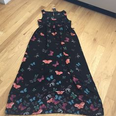 Dorothy Perkins Maxi Tie back butterfly dress New with tags, UK 14 which is a US 10 Dorothy Perkins Dresses Maxi
