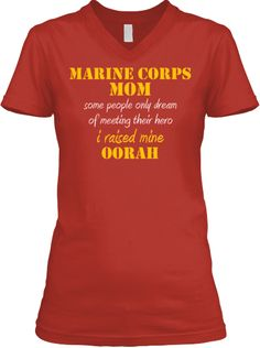 The Few, The Proud Marine Corps Mom