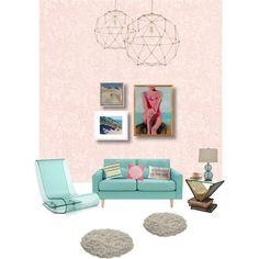 Modern Turquoise Sweet Room
