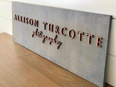 Custom Laser Cut Logo Sign with Raised Design - Custom Office Sign - Vendor Booth Sign - Small Business Sign - turn your logo into a sign 3d Laser, Laser Cut Wood, Laser Cutting, Laser Cut Signs, Conception 3d, Office Signage, Door Signage, Exterior Signage, Entrance Sign