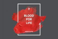Blood donation 11 posters by Lara Cold illustrations on Creative Market