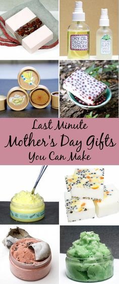 Discover last minute Mother's day gift ideas with this collection of Mother's day gift ideas you can DIY in just an afternoon!